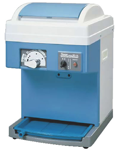 スワン 電動式クラッシュ&シェーバー SC-15【代引き不可】【かき氷機】【かき氷器】【業務用】