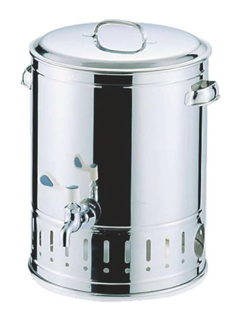 SA18-8温冷水クーラー 25L 【ウォータークーラー】【喫茶用品】【18-8ステンレス】【Ω】【業務用】