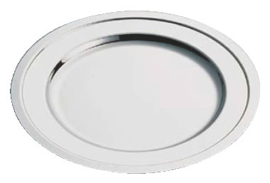 SW18-8プレーン丸皿 24インチ【バイキング ビュッフェ】【バンケットウェア】【皿】【18-8ステンレス】【業務用】