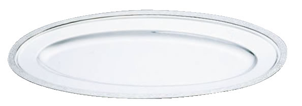 SW18-8モンテリー魚皿 22インチ【バイキング ビュッフェ】【バンケットウェア】【皿】【18-8ステンレス】【業務用】