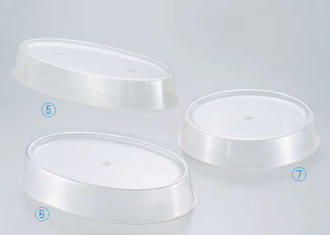 Nアクリル製丸皿カバー 20インチ用【バイキング ビュッフェ】【バンケットウェア】【皿】【業務用】