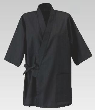 男女兼用 作務衣 JT-2011 (消炭色) L【ユニフォーム】【作業着】【飲食店用】【業務用】