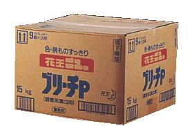花王 漂白剤ブリーチP 15kg 【清掃用品 掃除用品】【洗剤 クリーナー】【掃除用品】【清掃用品】【洗剤】【業務用】
