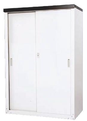 家庭用収納庫 HS-132【代引不可】 【用具入れ 収納庫】【清掃道具 掃除道具】【業務用】