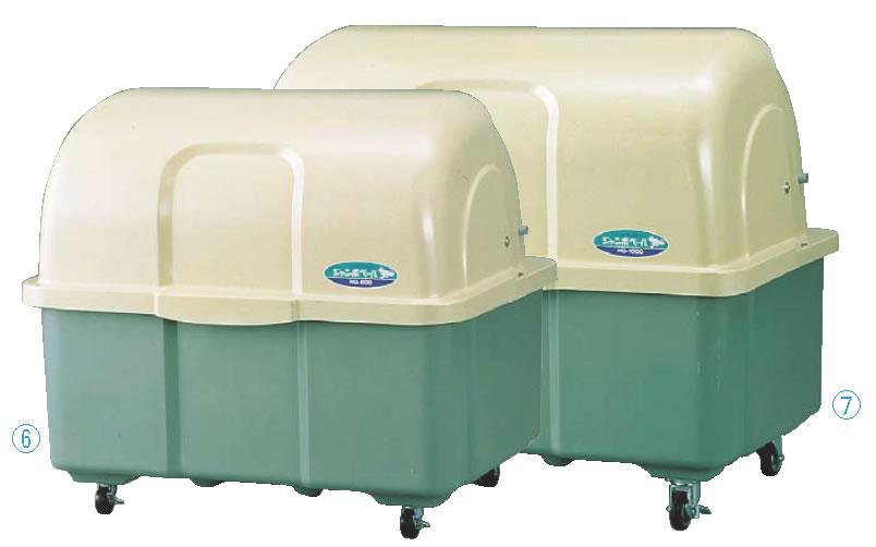 ジャンボペール HG800-T 【代引き不可】【ゴミ箱 ジャンボペールボックス】【ダストカート ゴミステーション】【ダストボックス】【ごみ箱】【業務用】
