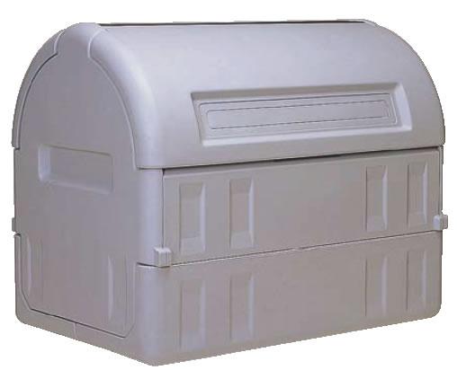 サンクリーンボックス #800 キャスター無 【代引き不可】【ゴミ箱 ジャンボペールボックス】【ダストカート ゴミステーション】【ダストボックス】【ごみ箱】【業務用】