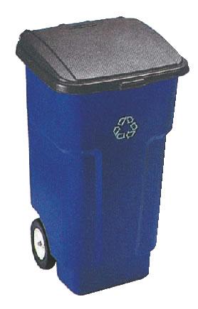 スクエア ブルートビッグホイールコンテナ 9W27-73 【代引き不可】【ゴミ箱 ジャンボペールボックス】【ダストカート ゴミステーション】【ダストボックス】【ごみ箱】【業務用】