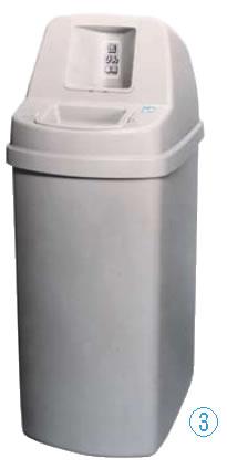 缶・ビン回収容器セレクト 145l 【代引き不可】【ゴミバコ ダストボックス】【清掃用品 掃除用品】【ゴミ箱 ペール】【ごみ箱】【リサイクルボックス】【業務用】