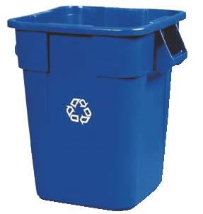 スクエアブルート・リサイクルコンテナ No.3536-06 【代引き不可】【ゴミバコ ダストボックス】【ゴミ箱 ペール】【ごみ箱】【リサイクルボックス】【業務用】
