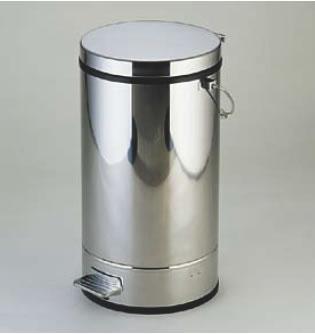 SA18-0ペダルボックス P-3型B 中缶付 18L【ごみ箱】【リサイクルボックス】【ダストボックス】【ペール】【ステンレス】【業務用】
