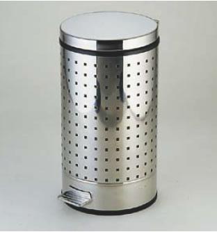 SA18-0ペダルボックス P-6型 中缶付【ごみ箱】【リサイクルボックス】【ダストボックス】【ペール】【ステンレス】【業務用】