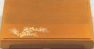尺7寸百万石千筋箱膳 梨地萩(D.X仕切付)【松花堂】【弁当箱】【幕の内弁当】【宴会弁当】【松花堂弁当】【膳】【宴会に】【1-345-1】