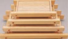 霧島盛込器 (中)【盛込器】【料亭に】【盛器】【木製】【白木】【1-734-23】