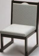 桃山高椅子 グリーン(布)【代引き不可】【椅子】【座椅子】【イス】【和室椅子】【旅館に】【料亭に】【A-3-49】