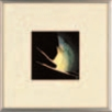 銀額(小) 鶴【客室用品】【インテリア】【和室用】【額縁】【絵画】【1-821-6】