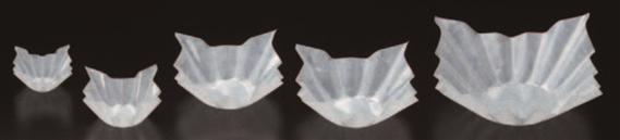 白雲流(200枚入) 24角【フィルムケース】【フィルムカップ】【トレー】【ケース】【珍味入】【使い捨て】【包材】【H-16-99】