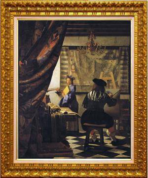 絵画フェルメール『絵画芸術の称賛』【フェルメール展☆開催記念!】