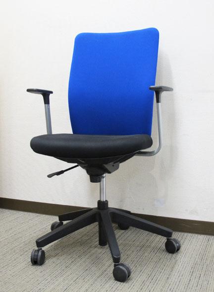 オフィスチェア デスクチェア エグゼクティブチェア 肘付き【中古オフィス家具】【中古】