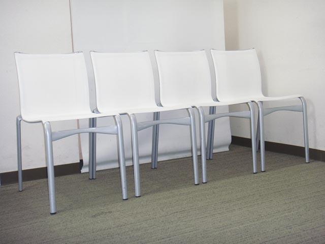 会議チェア ミーティングチェア スタッキングチェア【中古オフィス家具】【中古】