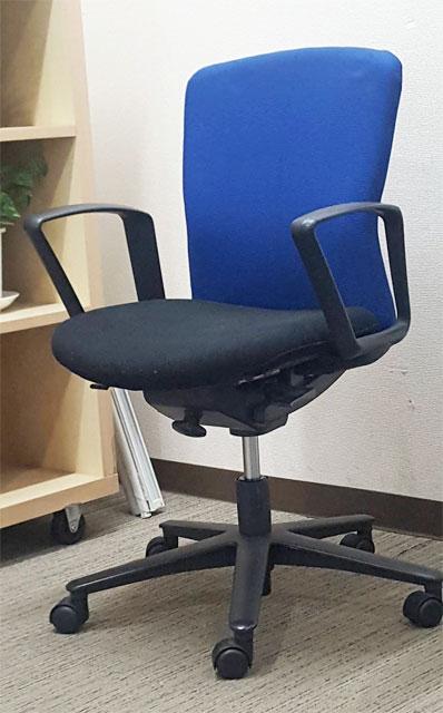 オフィスチェア デスクチェア 事務チェア 肘付き【中古オフィス家具】【中古】
