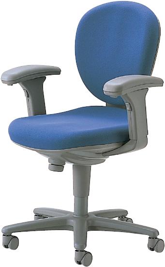 【平成最後!期間限定4/22~4/25エントリーでポイント10倍!】オフィスチェア 肘付き キャスター付き 椅子 事務用 4色あり 新品