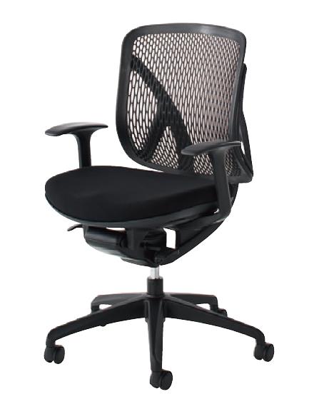 送料無料 新品 「Yera(イエラ) メッシュチェア ローバック T字肘タイプ」 オフィスチェア パソコンチェア 椅子 いす イス 2色あり