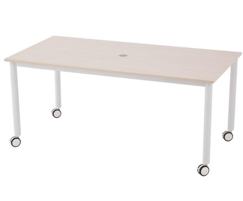 RFCTT-WL1680NAサイズ mm W1600×D800×H700重量約26Kg耐荷重天板:約20kg 均等荷重 会議テーブル ミーティングテーブル 会議用テーブル 出荷 ワークデスク 2色あり 安全 会議机 作業テーブル 作業台 ワークテーブル ミーティング用テーブル
