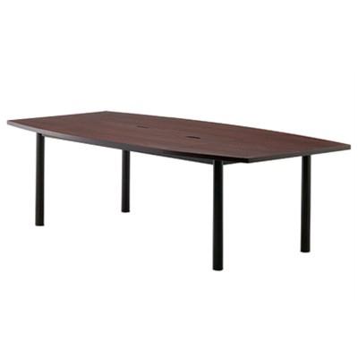【テーブル】 会議テーブル ミーティングテーブル W2400×D1200 オフィス家具