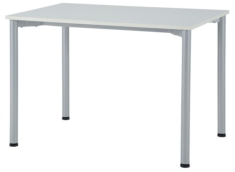 送料無料 新品 「ミーティング&ワークテーブル W1000mm×D700mm」 ミーティングテーブル 会議テーブル 打ち合わせ 会議 ミーティング ワークテーブル 2色あり