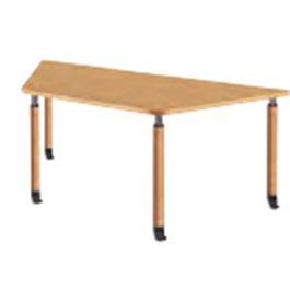 福祉施設向けテーブル 昇降テーブル 4本キャスター脚
