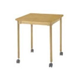 固定式テーブル キャスター付