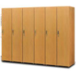 福祉施設向け 木製ロッカー/シングル増連用