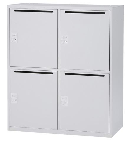 4人用 メールボックス メールBOX パーソナル収納 パーソナルロッカー