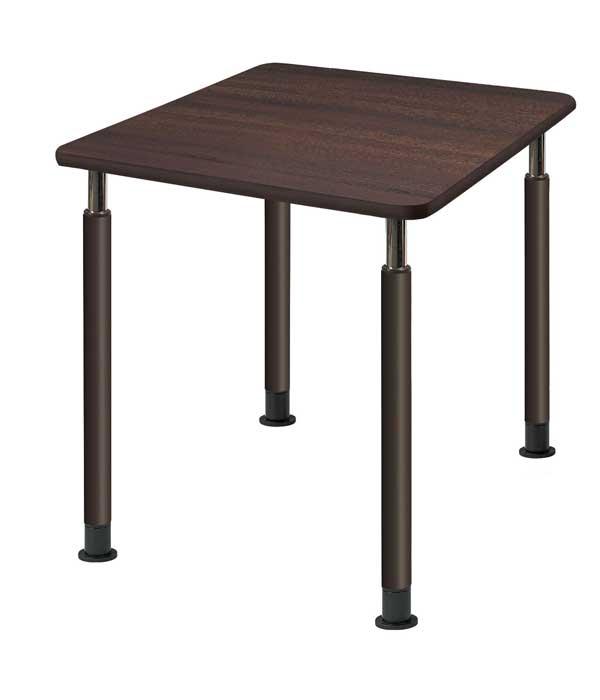 昇降テーブル 昇降式テーブル 4本固定脚タイプ W900×D900 介護・福祉施設向け 2色あり