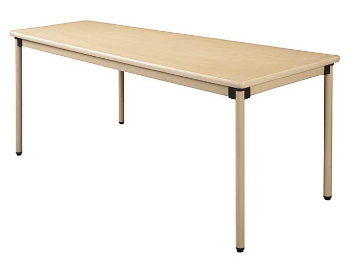H70mm 高さ調節 高さ調整 介護用テーブル 施設用テーブル 福祉用テーブル 木製テーブル 4本固定脚 UFT-KA1675 推奨 福祉施設向けテーブル アジャスター型 最新アイテム スタンダードタイプ 送料無料 W1600×D750 固定脚テーブル 法人様限定商品