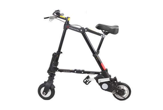 AI-484 A-bike electric 電動アシスト(前輪ノーパンク、後輪チューブ)