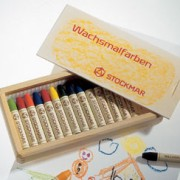シュトックマー・スティッククレヨン16色木箱