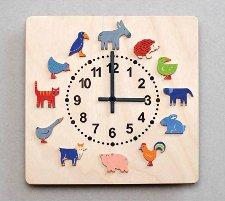 時計・ヤーン動物