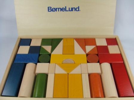 ボーネルンド (BorneLund) オリジナル積み木(つみき) カラー