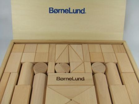 ボーネルンド (BorneLund) オリジナル積み木(つみき) 白木