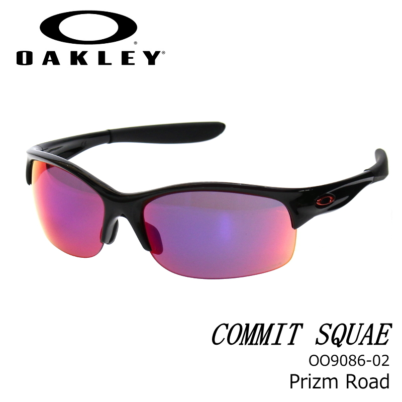 OAKLEY (オークリー) コミットSQ COMMIT SQUARED Prizm golf/Polished White スポーツサングラス oo908602