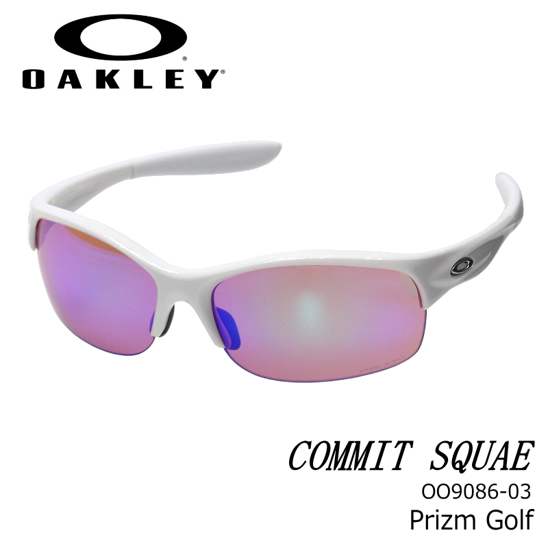OAKLEY (オークリー) コミットSQ COMMIT SQUARED Prizm road/Polished Black スポーツサングラス oo908603
