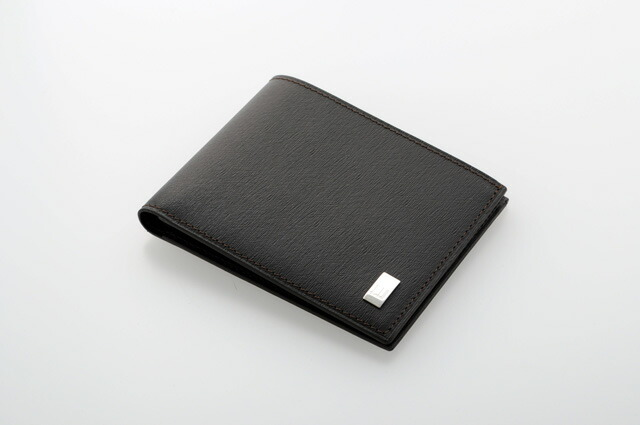 DUNHILL Dunhill SIDECAR sidecars FP3020E two fold wallet (purse without) dark brown dunhill mens calf