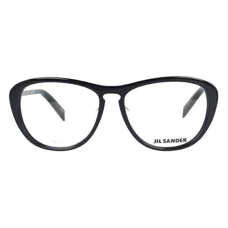 ジルサンダーメガネ伊達レンズ無料0円メガネフレームJILSANDERJ4013-A53サイズレギュラーフィットレディース