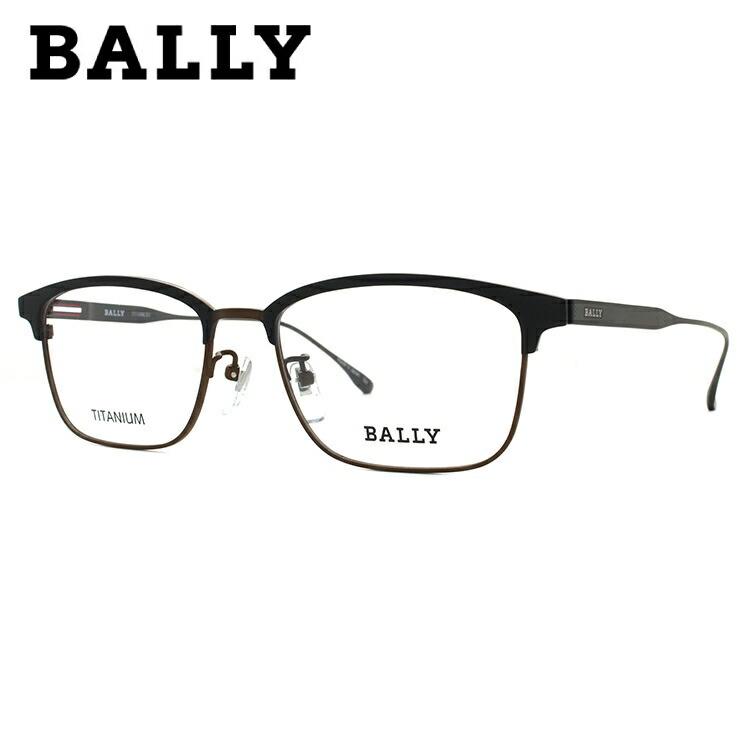 【選べる無料レンズ → PCレンズ・伊達レンズ・老眼鏡レンズ・カラーレンズ】 バリー メガネフレーム 2017年 冬 新作 伊達メガネ BALLY BY3030J 1 54サイズ 国内正規品 ブロー ユニセックス メンズ レディース