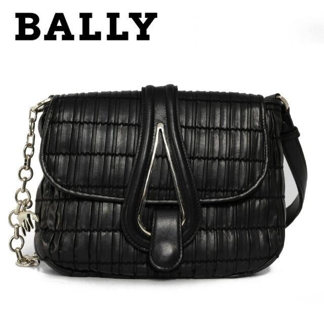 バリー BALLY ハンドバッグ 6176940 CROSS BODY BAG DRESS PATRICIA-SM/00 BLACK Black ブラック レディース 革 カーフレザー