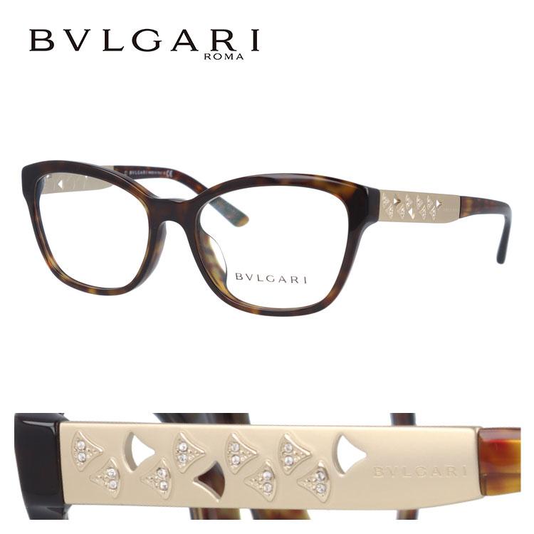 ブルガリ メガネフレーム ディーヴァ ドリーム 伊達メガネ アジアンフィット BVLGARI DIVA'S DREAM BV4153BF 504 54サイズ 国内正規品 ウェリントン ユニセックス メンズ レディース