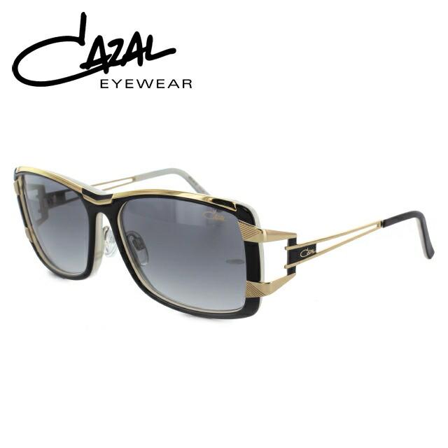 国内正規品 カザール CAZAL サングラス MOD.8019/1 C001 57 ブラック/ゴールド レギュラーフィット メンズ レディース UVカット 新品