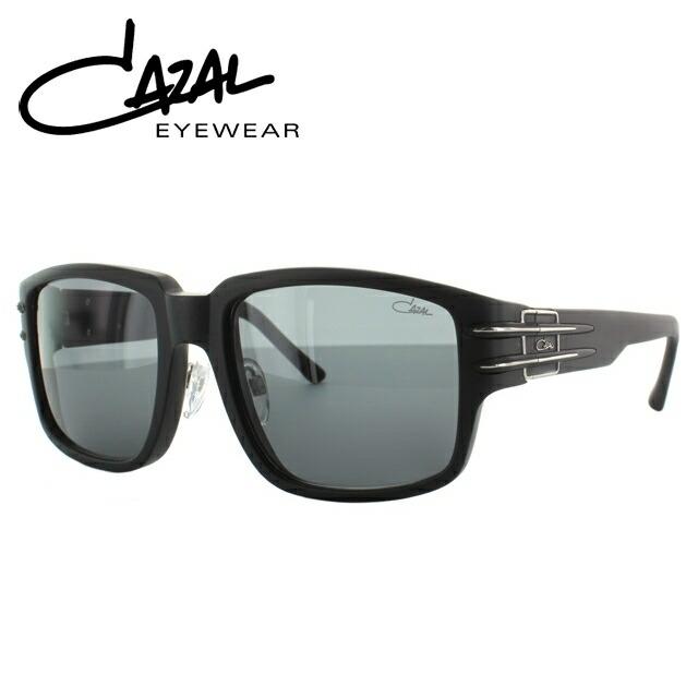 国内正規品 カザール CAZAL サングラス MOD.8026/1 C002 57 マットブラック/シルバー レギュラーフィット メンズ レディース アイウェア 新品