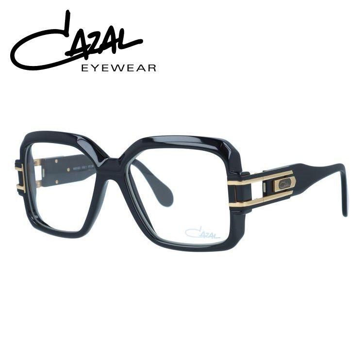 【選べる無料レンズ → PCレンズ・伊達レンズ・老眼鏡レンズ・カラーレンズ】 国内正規品 カザール メガネフレーム レジェンズ レギュラーフィット CAZAL LEGENDS MOD623 001 57サイズ スクエア ユニセックス メンズ レディース
